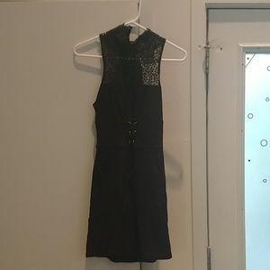 Free People black sleeveless dress